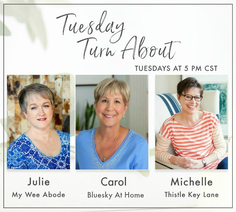 Tuesday Turn About hostess banner