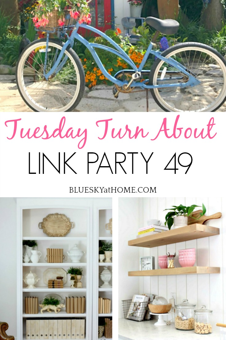 Tuesday Turn About Link Party 49 graphic
