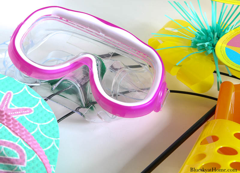 pink goggles