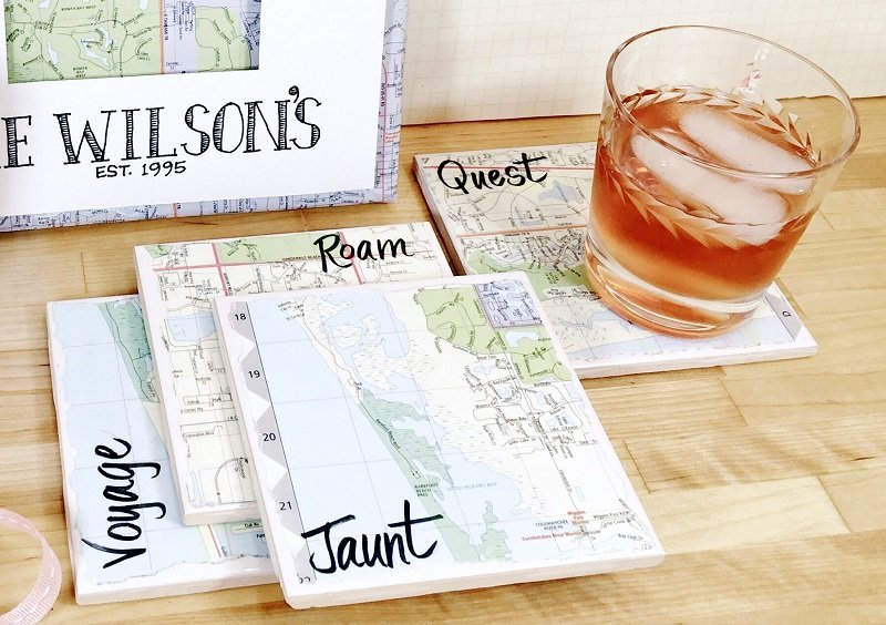 DIY map projects
