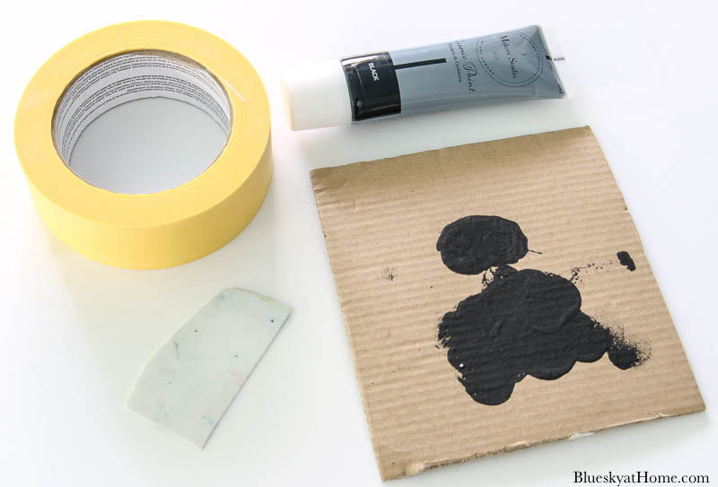 paint for stenciling on glass
