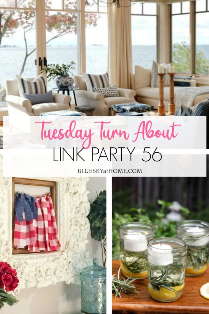 Tuesday Turn About Link Party 56 graphic