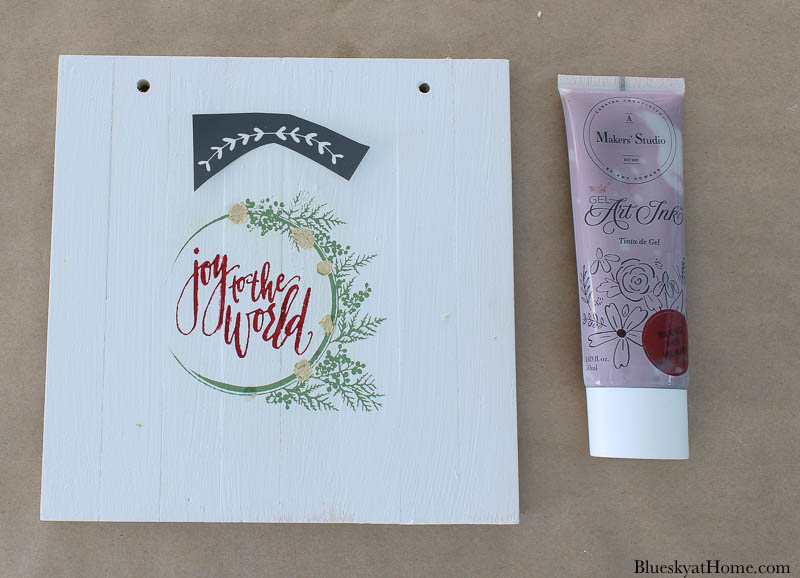 stencils for wood Christmas signs and paint