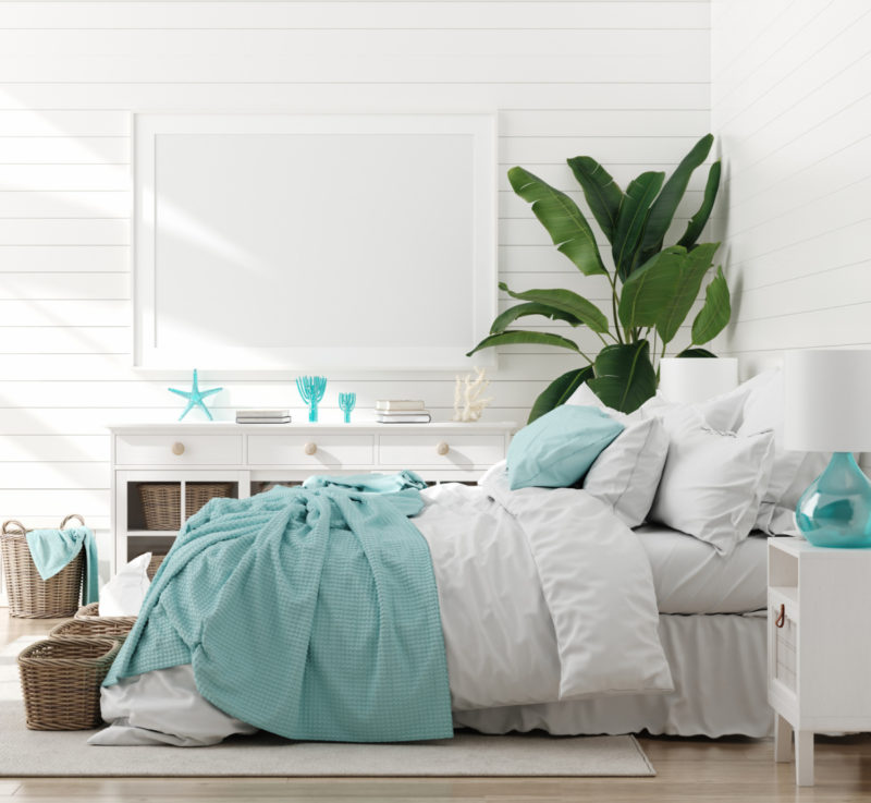 ocean hues in 2021 home decor trends
