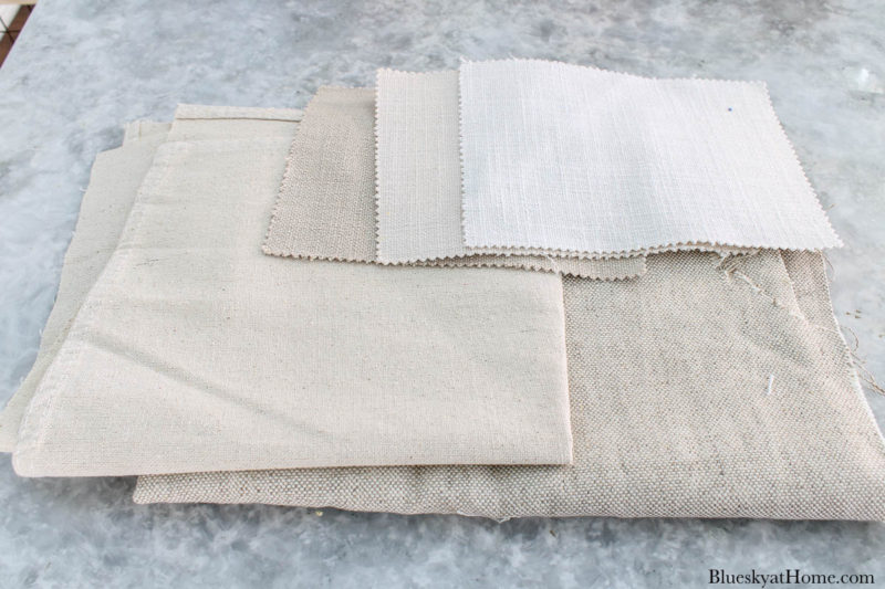 fabric for covering clay pots