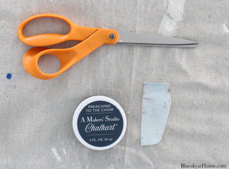 supplies for DIY spring home decor projects
