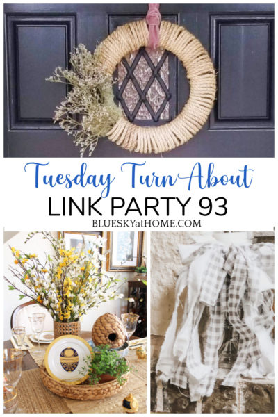 Tuesday Turn About Link Party 93 graphic
