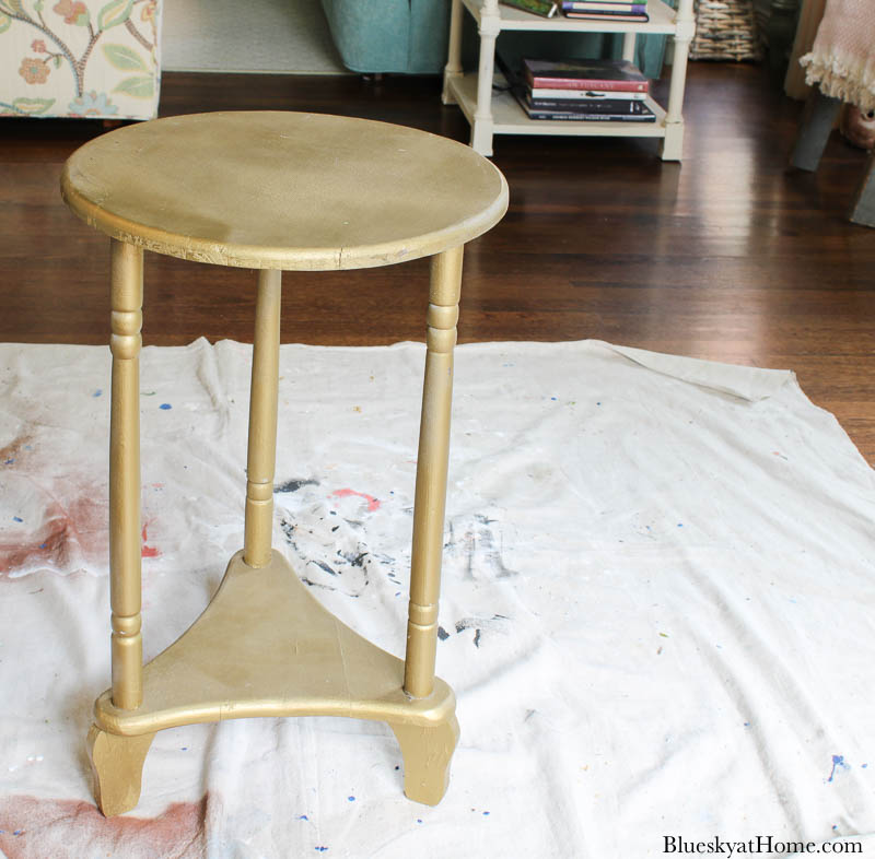 old table before repurposed