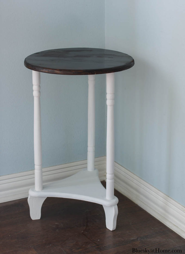 painted old table