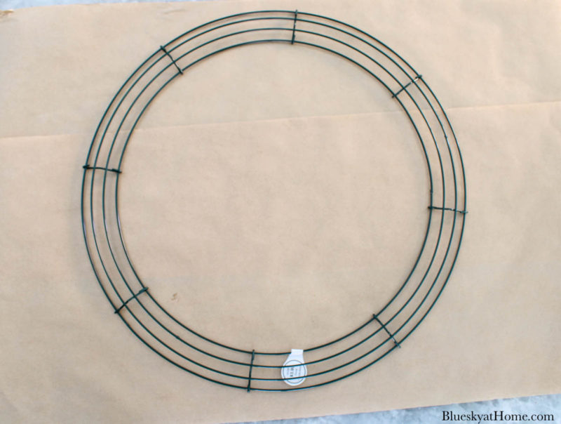 wired wreath