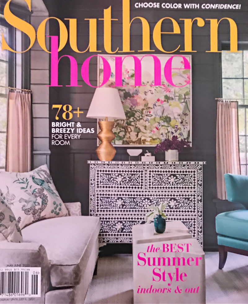 Southern Home magazine cover