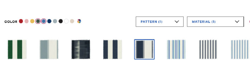 color choices for cabana chairs