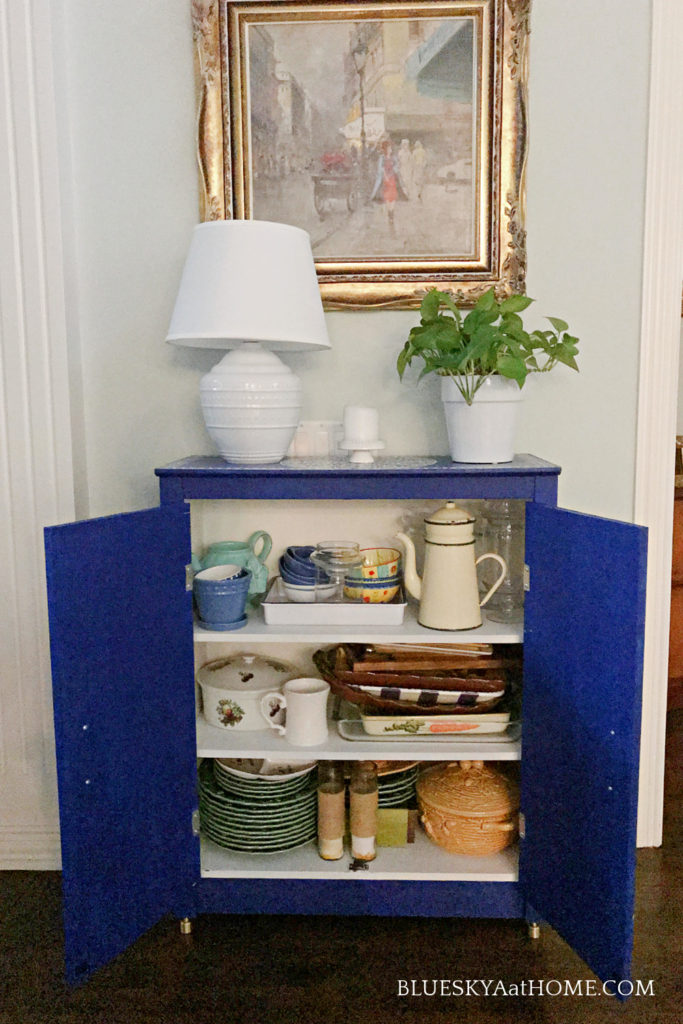 cabinet with storage